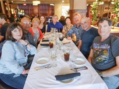 Swingin Into Spring 2014 Group Dinner 2
