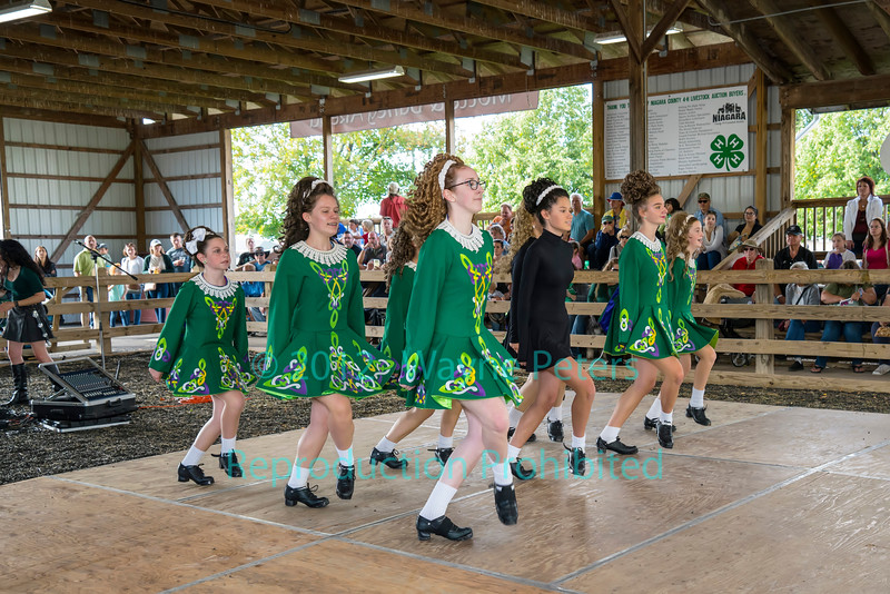 Clan Na Carra Irish Dance at the 2019 Niagara Celtic Festival in Lockport, NY.