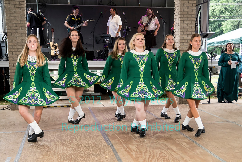 Clann Na Cara dancing at the Niagara Celtic Festival, September 18, 2016 in Olcott, NY.