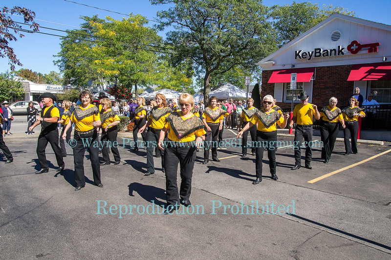 Hot Country Liners at the Newfane Apple Harvest Festival, September 25, 2016 in Newfane, NY.