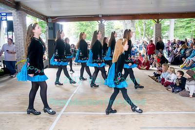 Rochez Academy Of Irish Dance at the 2014 Niagara Celtic Festival in Olcott, NY on September 14, 2014