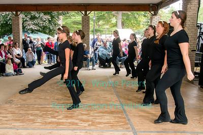 Rochez Academy of Irish Dance at the 2013 Olcott Celtic Festival