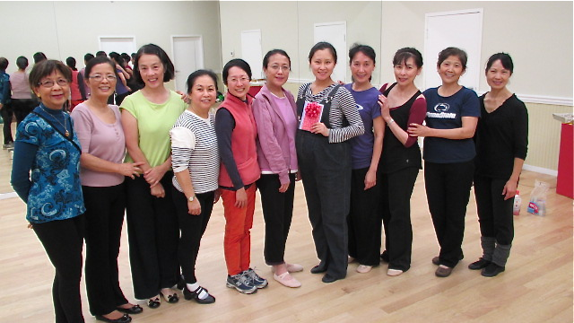 """All the """"beautiful"""" dancers!  ;-)"""