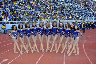 Southern University Dancing Dolls 10/22/2016
