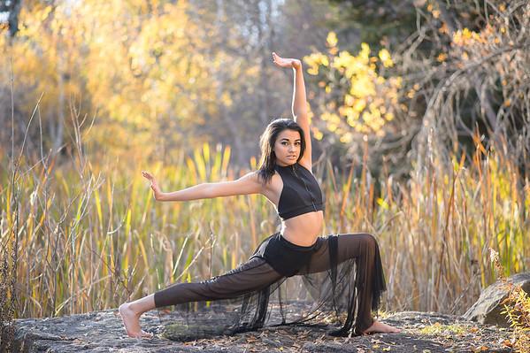Elena, dancer at Kathryn Albertsons Park, Boise photographer.