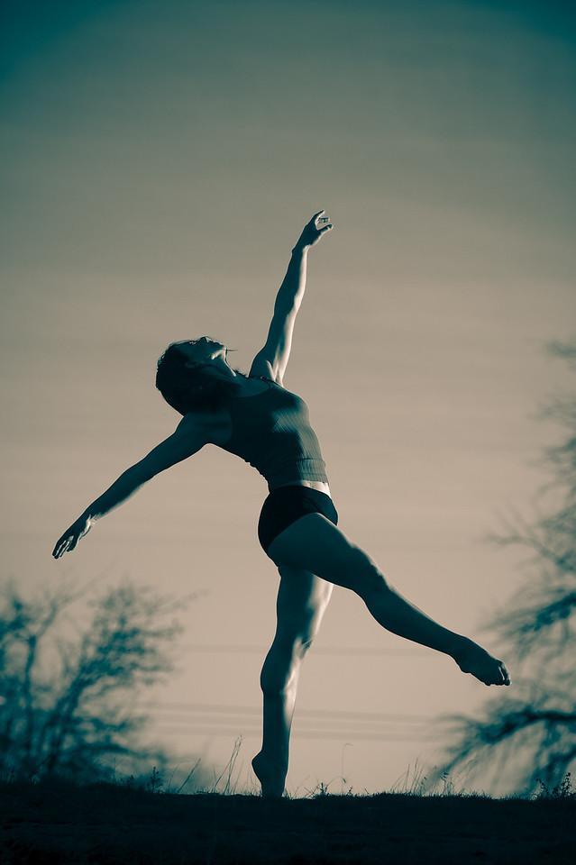 Katie Ponozzo, Boise dance portrait.
