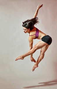 Katie Ponozzo, dance portrait in Boise. Image by Mike Reid, All Outdoor Photography.