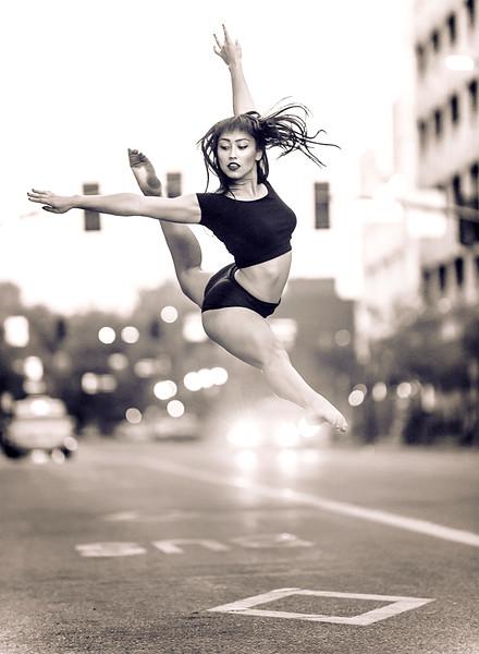 Kennedy, downtown Boise. Boise photographer. Outdoor, dance portfolio images.
