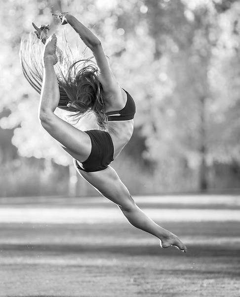 Macy at the Park. Boise dance photographer.