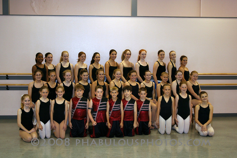 Pointe of Impact Dance Company Group Photo