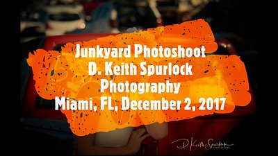 Junkyard Photoshoot in Miami with Aly, Annaelie and Jade