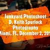 Junkyard Photoshoot in Miami