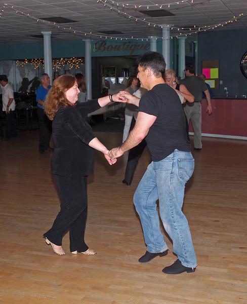 WCS Dancing at Avant Garde - 22 Jan 2011