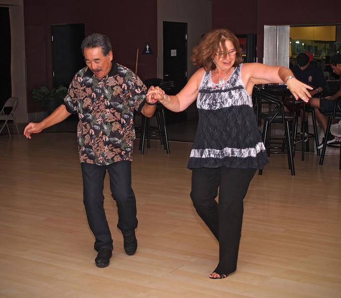 WCS Dancing at Bea Hive - 1 Oct 2011