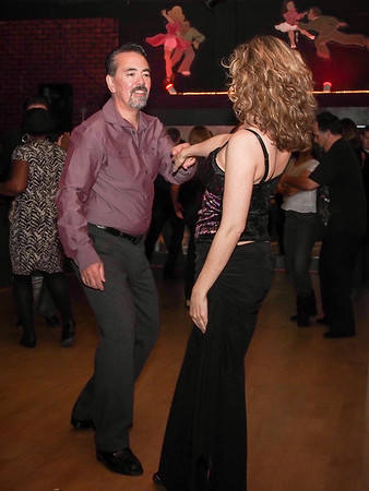 WCS Dancing at The Clubhouse - 13 Jan 2013