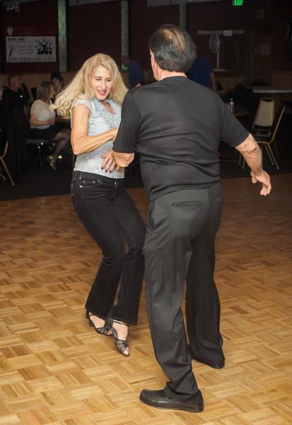 WCS Dancing at the Press Box - 5 December 2014