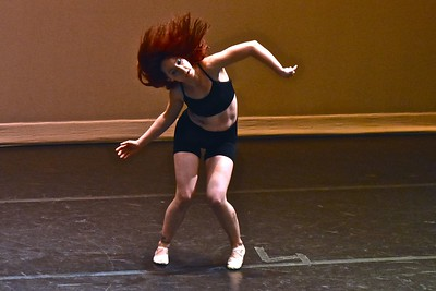"Jose Quezada — For Times-Standard Stephanie Carter performs her own choreographed piece for ""Million Reasons""."