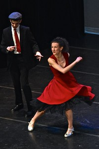 Jose Quezada — For Times-Standard Melissa Hinz and Ty Vizenor competed against more than 200 international-level dancers to land a second-place finish performing this piece at the Vienna International Ballet Experience. They are headed to Austria for the for the finals in their categrory.