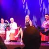 Esteemed panel: Carson Kressley, Florence Henderson, Kym Johnson, Tony Dovolani, Jason's legs