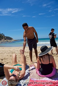 Dancing at the Bay - McKenzies Beach - 26 November 2017