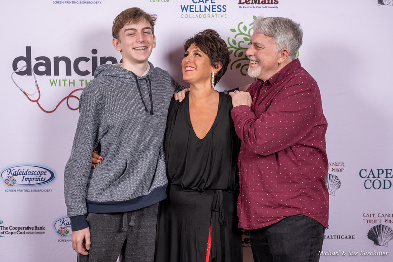 Tracy's Family (son Max, Tracy, Bill O'Neill)