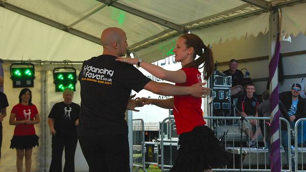 Dancing Fever @ D10 Festival Llanelli 17-07-10