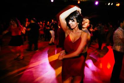 Salsa Dancing at Night