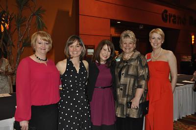 Angie Albright, Kassie Misiewicz, Kelly Zega, Denise Garner, Molly Rawn 1