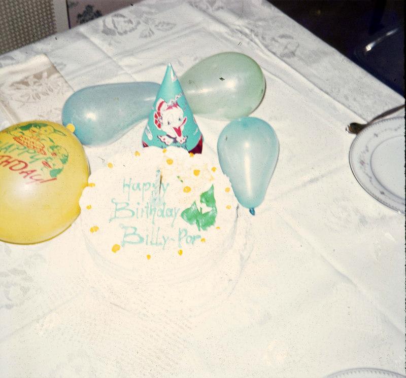 March 29, 1970 First birthday cake