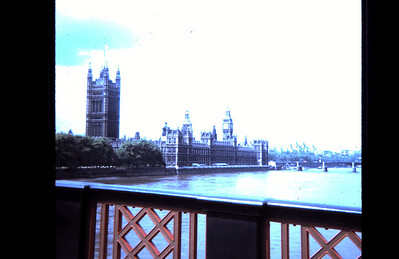 Parliament from Lambeth Bridge | London