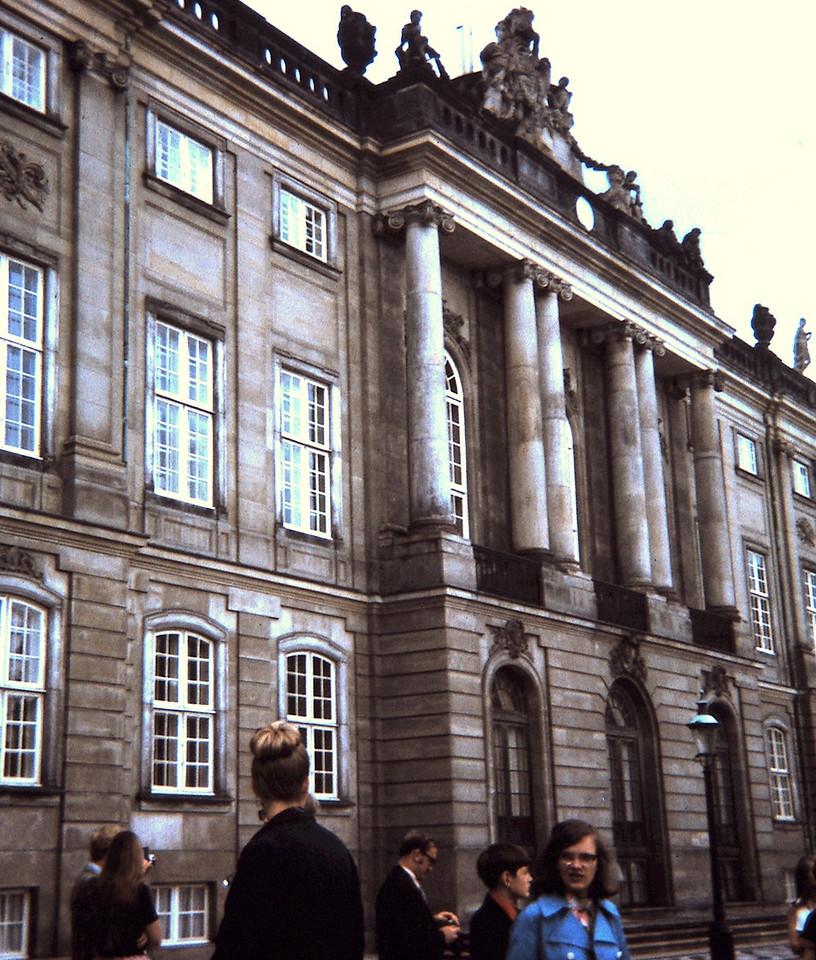Amalien Palace, Copenhagen, Denmark