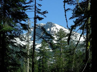 Brokeoff Mountain from Brokeoff Meadows road | May 23, 2009