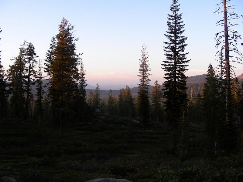 Evening hike West side of Loomis Peak - Views of Lost Creek Valley | May 23, 2009