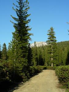 Evening hike West side of Loomis Peak - View of Mt Lassen | May 23, 2009