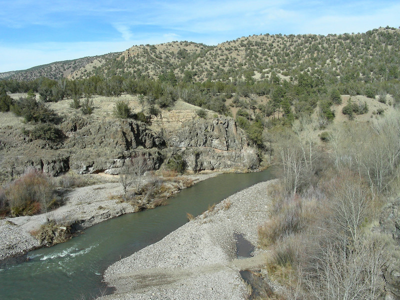 Gila River | Gila Cliff Dwellings National Monument | New Mexico | 2/5/2010
