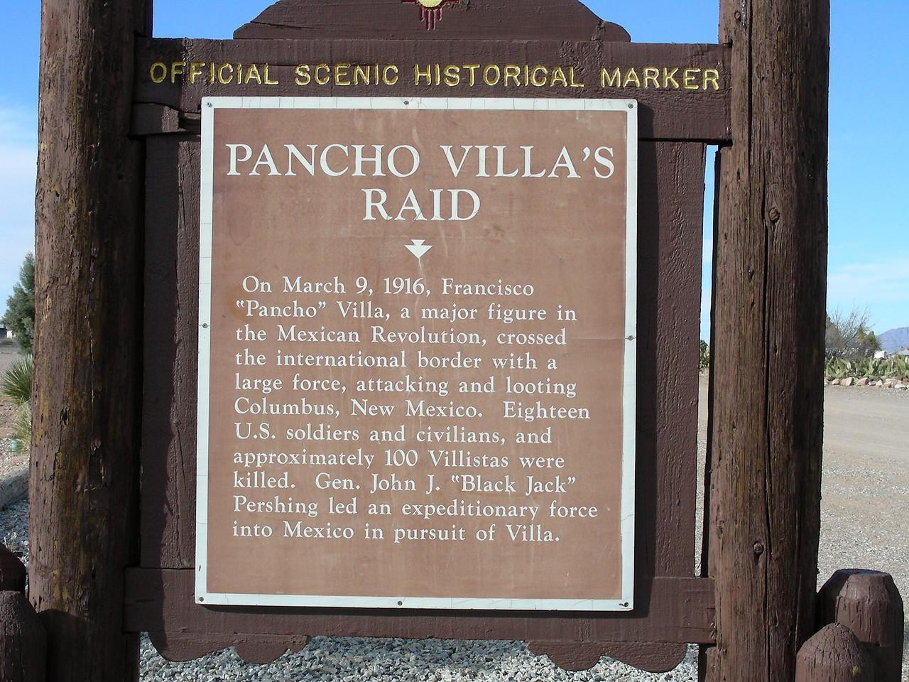 Pancho Villa State Park, Columbus, New Mexico | 2/6/2010