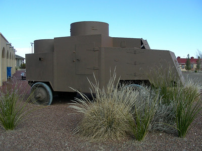 General Pershing's armored truck (tank prototype) | Pancho Villa State Park, Columbus, New Mexico | 2/6/2010