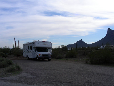 Morning at campground | E Picacho Peak State Park | Picacho, Arizona | 2/2/2010