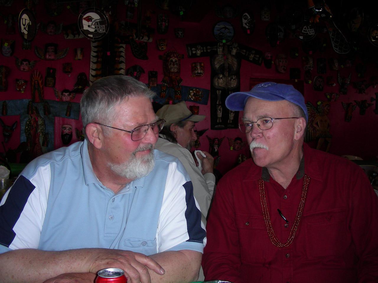 Jim and Bob at The Pink Store, Las Palomas | 2/12/2010