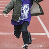 John Strickler - Digital First Media<br /> Daniel Boone student Darius Pestich competes in the ling jump during the Special Olympic games held Monday at the high school stadium.