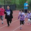 John Strickler - Digital First Media<br /> Daniel Boone students run the 100 meters during the Special Olympic games held Monday at the high school stadium.