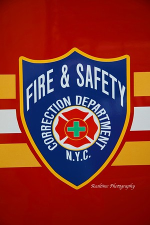 Apparatus Photo Shoot - Rikers Island Fire & Safety 10/27/2019