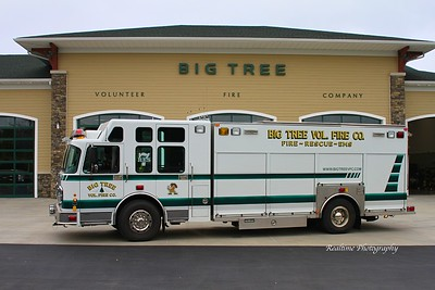 Apparatus Photoshoot - Big Tree Fire Department, NY 10/26/2018