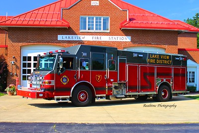 Apparatus Shoot - Lake View Fire Company, Lakeview, NY - 7/10/2019