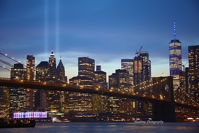 9/11 Tribute Lights - Brooklyn, NY - 9/11/2019