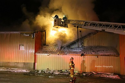 Structure Fire - Allegany, NY - 01/22/2020