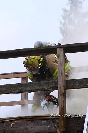 Structure Fire - 3767 So. 9 Mile Rd. Allegany, NY - 05/16/2019