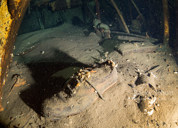 Haunting reminder that 28 men lost their lives and 6 might still be in the engine room somewhere