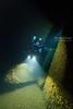 Daniel J Morrell props with a diver