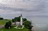 Point aux Barques lighthouse on Lake Huron
